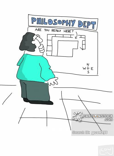 Philosophy Department - Are You Really Here?