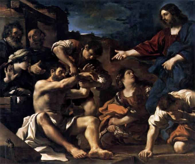 raising of lazarus 1