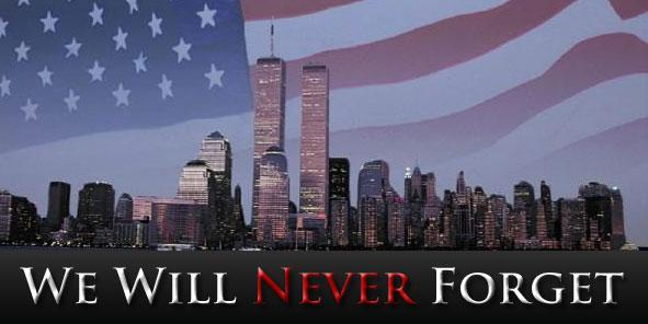 We will never forget - 9-11