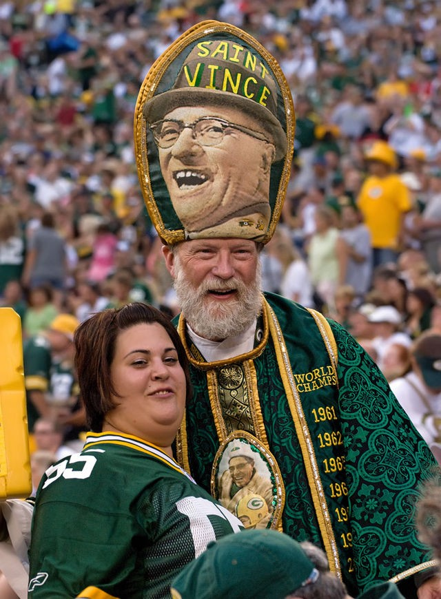 Packer Pope Vince Lombardi