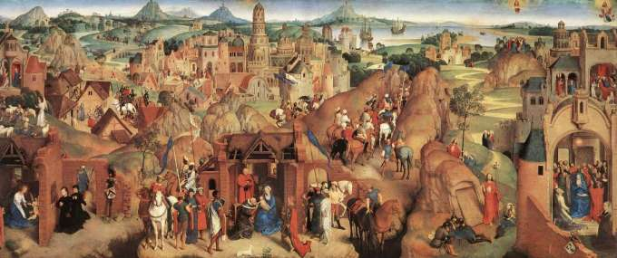 Advent Journey - Hans Memling