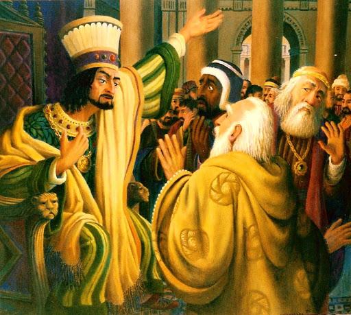 Herod terrified