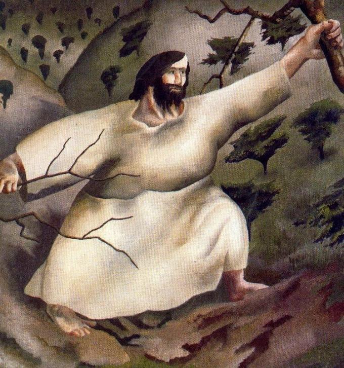 Jesus in Wilderness 03