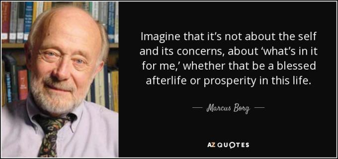 Marcus Borg quote