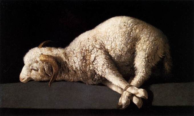 Agnus Dei sacrifice