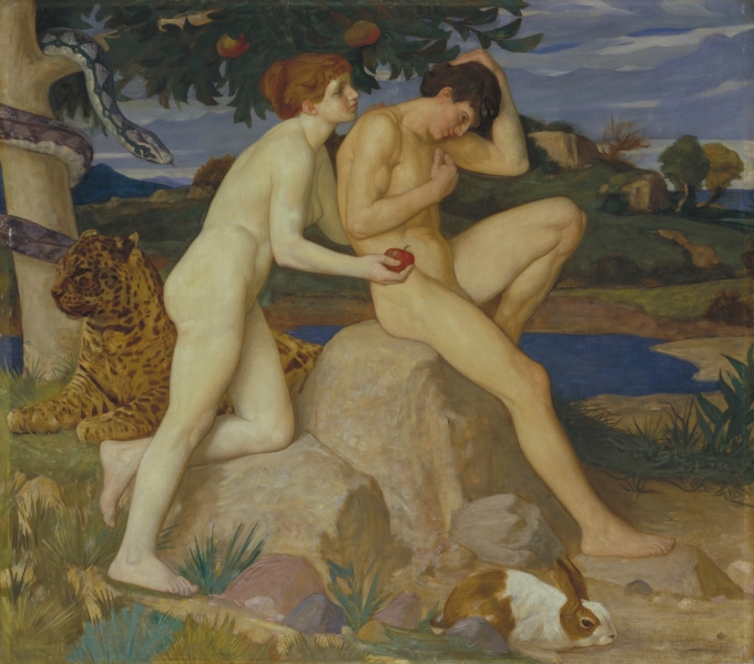 The Temptation - William Strang
